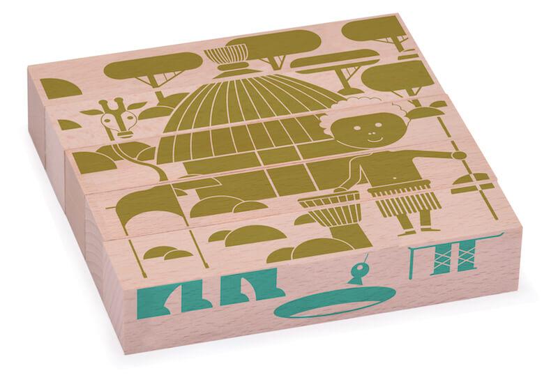 puzzle en bois casa little marmaille. Black Bedroom Furniture Sets. Home Design Ideas