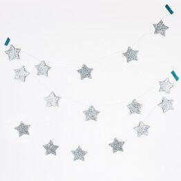 my-little-day_guirlande-étoiles-glitter-argenté1