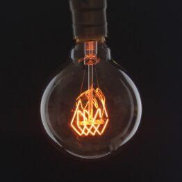 opjet_ampoule-décorative-rétro-globe-(D.9,5cm)-filament-forme-cercle-incandescent-ambré-40W