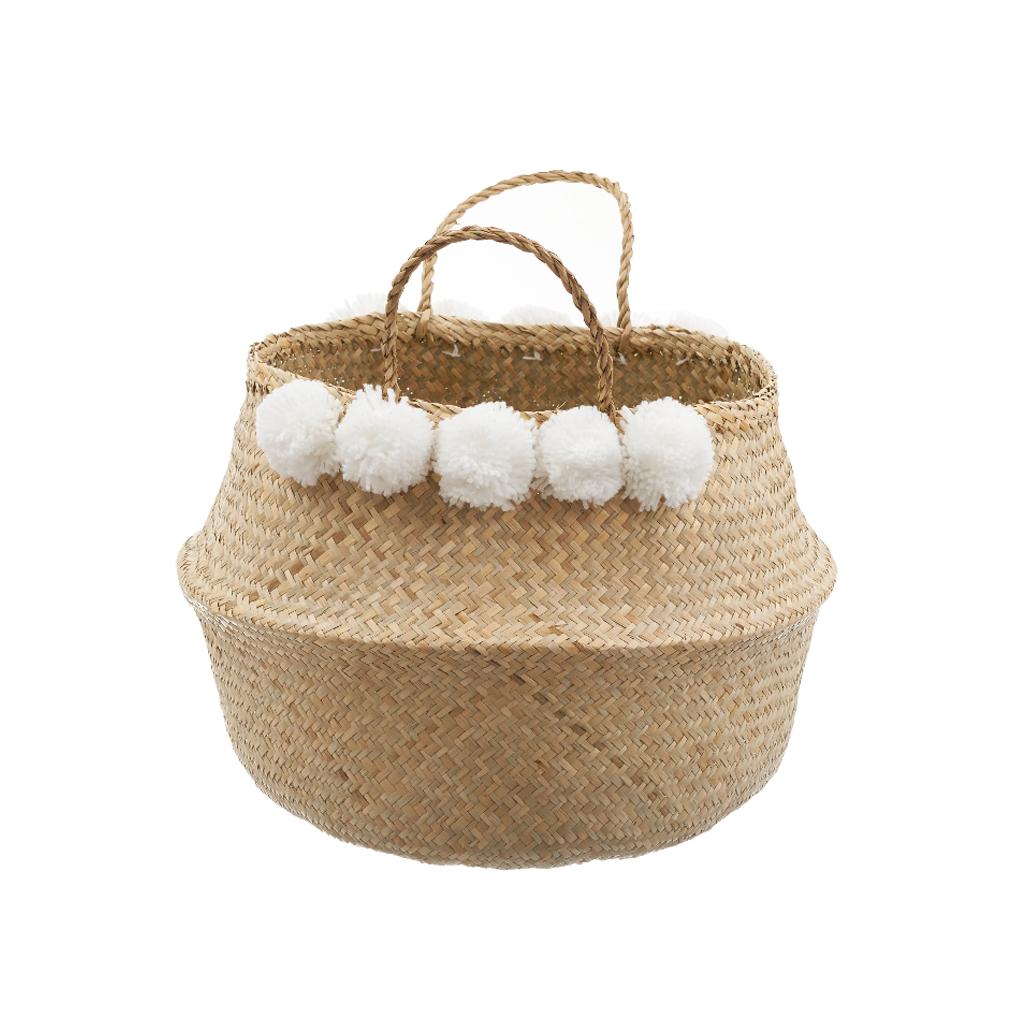 Panier A Pompon : petit picotin timothee panier pompon blanc little marmaille ~ Teatrodelosmanantiales.com Idées de Décoration