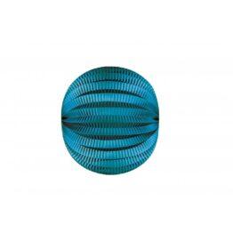 tim-et-puce-factory_lampion-rond-bleu-canard-30cm