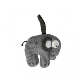 sebra_elephant-musical-en-crochet-gris