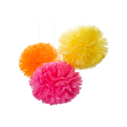 engel_trio-de-pompons-en-papier-jaune-rose-orange