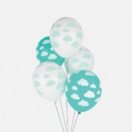 my-little-day-ballons-nuages-aqua