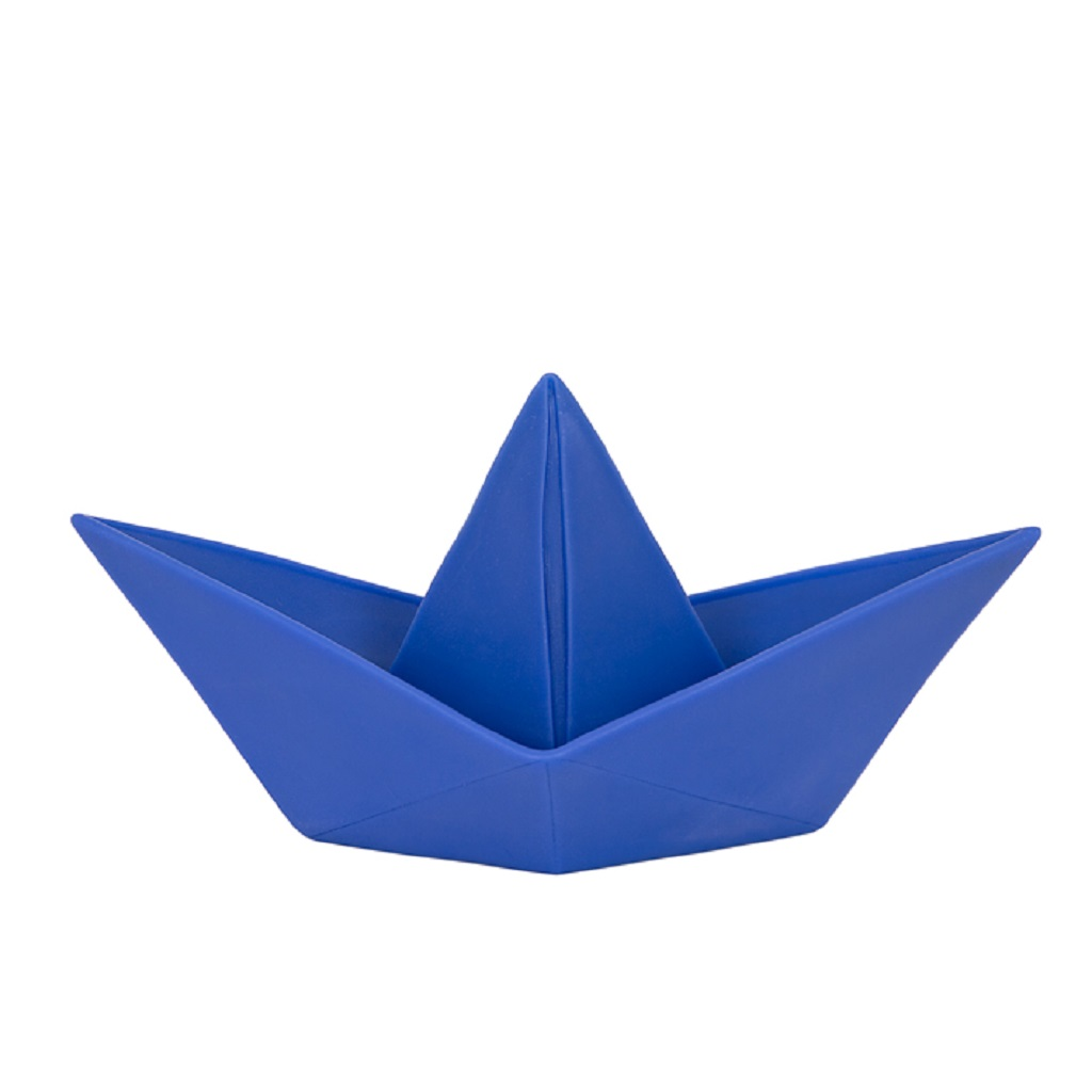 lampe bateau origami bleu little marmaille. Black Bedroom Furniture Sets. Home Design Ideas