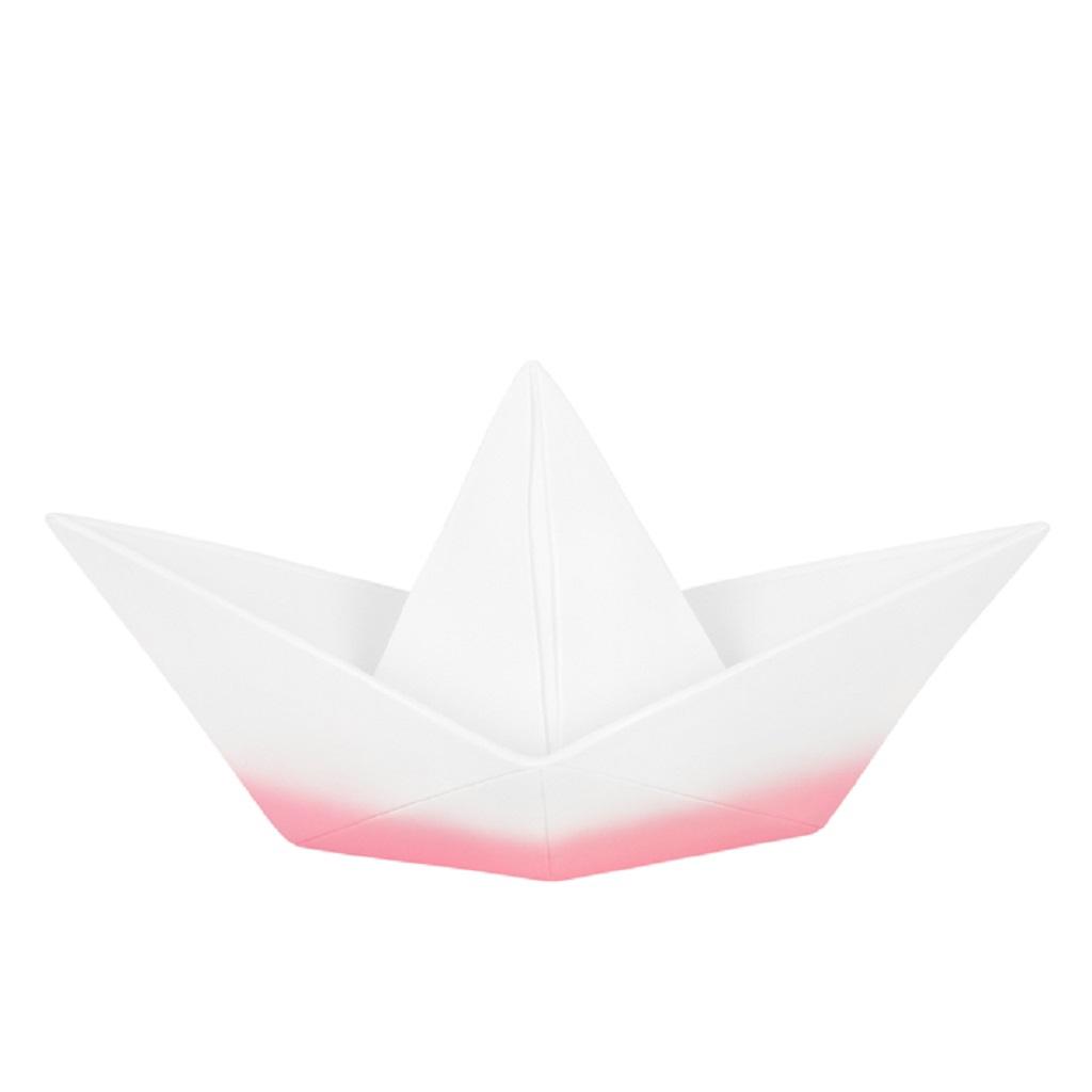 lampe bateau origami rose dip little marmaille. Black Bedroom Furniture Sets. Home Design Ideas