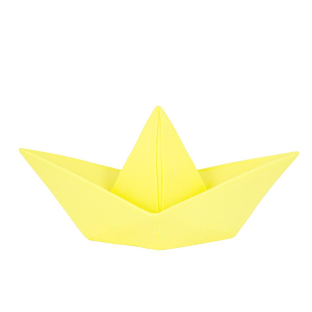 lampe bateau origami jaune little marmaille. Black Bedroom Furniture Sets. Home Design Ideas