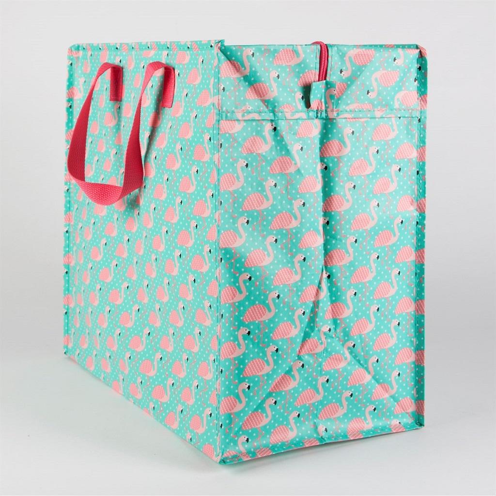 Sac De Jeu Nomade sac de rangement - flamant rose - little marmaille