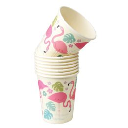 little-marmaille_8-gobelets-carton-flamant-rose