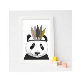 minimel_affiche-A4-indian-panda
