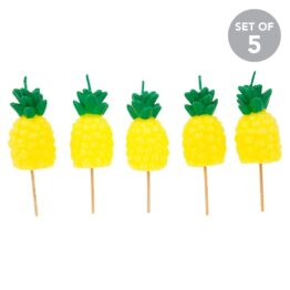 sunnylife_pineapple-cake-candles