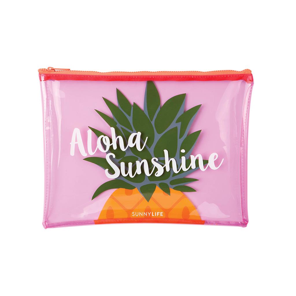 Exceptionnel Pochette transparente pour maillot de bain - Ananas - Little marmaille BA02
