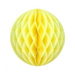 boule-alveolee-jaune-20cm