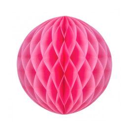 boule-alveolee-neon-rose-20cm