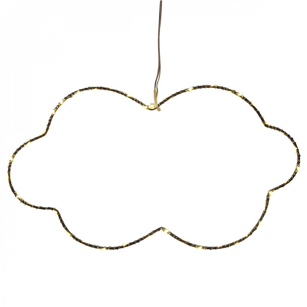nuage lumineux 40 led little marmaille. Black Bedroom Furniture Sets. Home Design Ideas