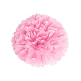 pompom-satin-rose-clair-40cm