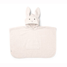 liewood_poncho-lapin-rose-poudre