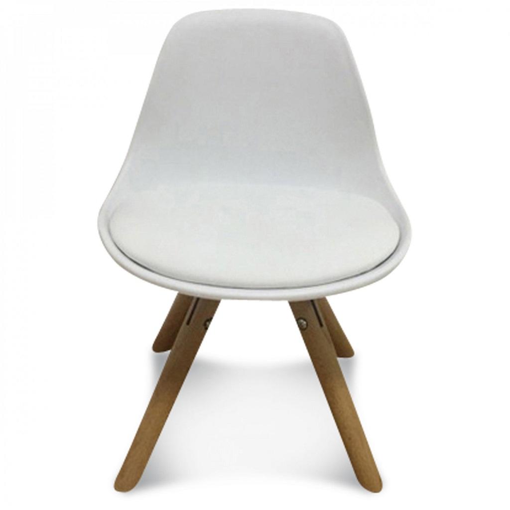chaise scandinave enfant blanc little marmaille. Black Bedroom Furniture Sets. Home Design Ideas