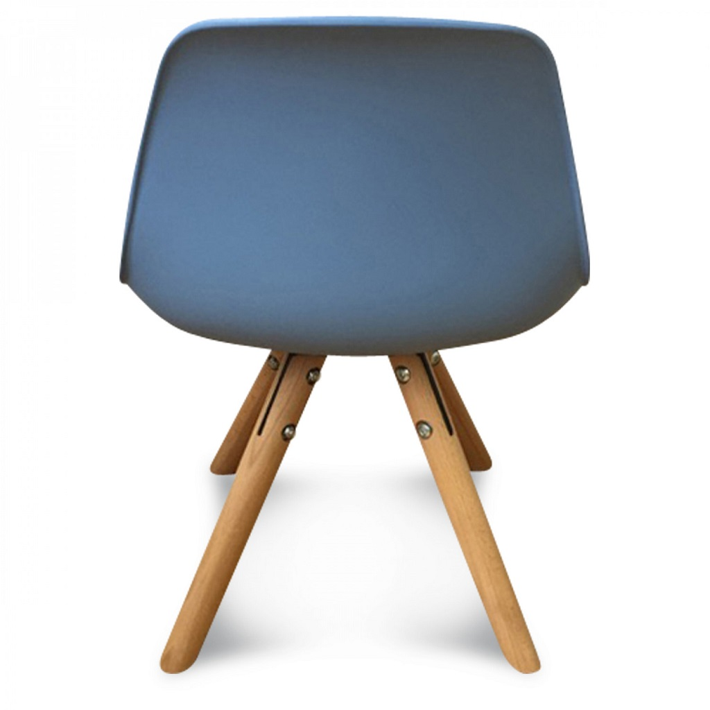 Chaise scandinave enfant bleu little marmaille for Table scandinave enfant