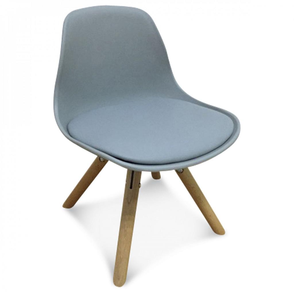 chaise scandinave enfant gris little marmaille. Black Bedroom Furniture Sets. Home Design Ideas