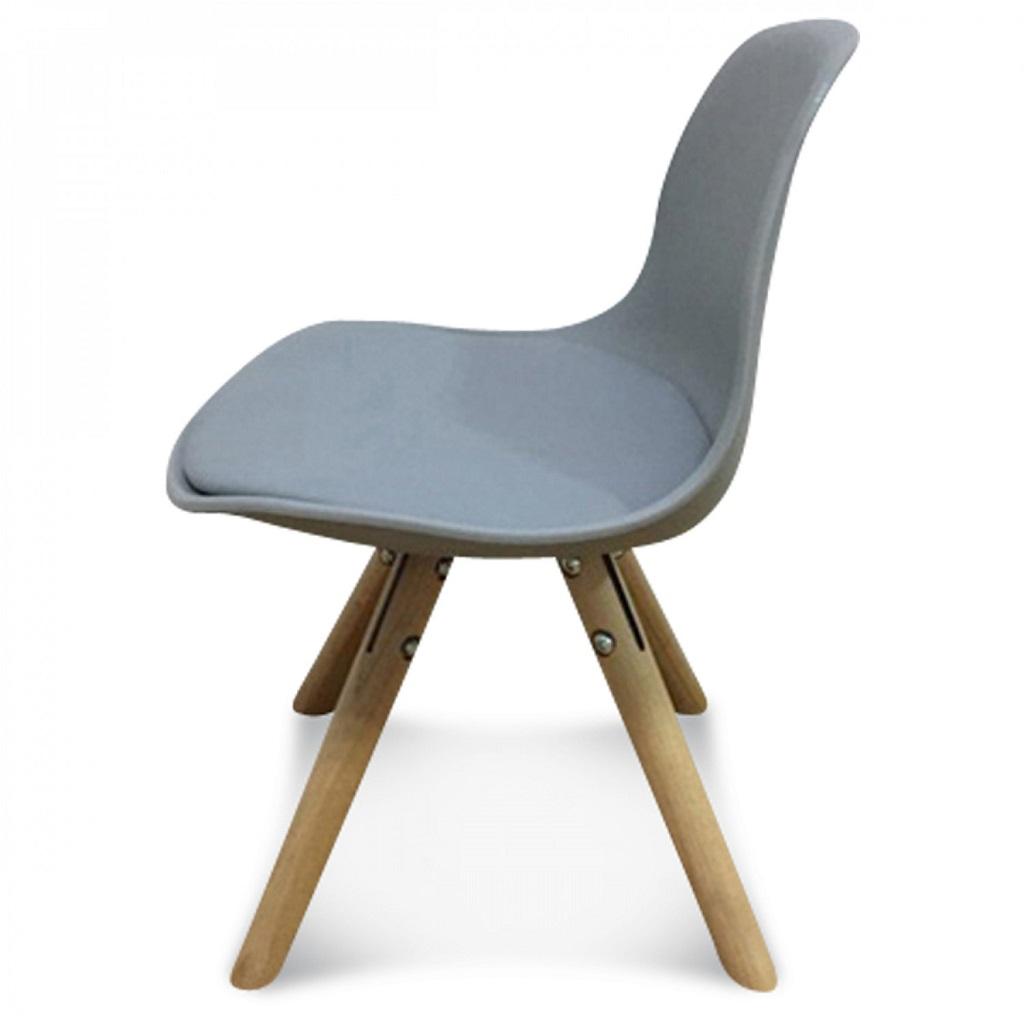 Chaise scandinave enfant gris little marmaille for Table scandinave enfant