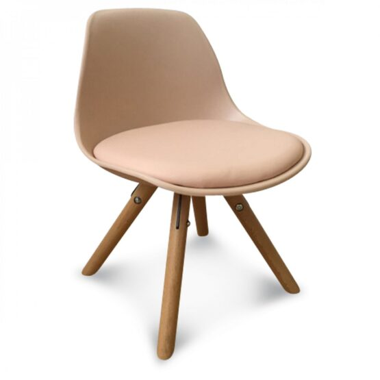 chaise scandinave enfant rose blush little marmaille. Black Bedroom Furniture Sets. Home Design Ideas