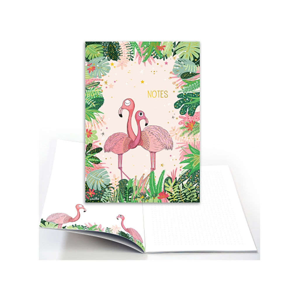 Cahier Notes Flamants Roses Little Marmaille