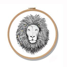 minimel_cadre-tambour-lion