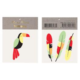 merimeri_tatouage-ephemere-toucan