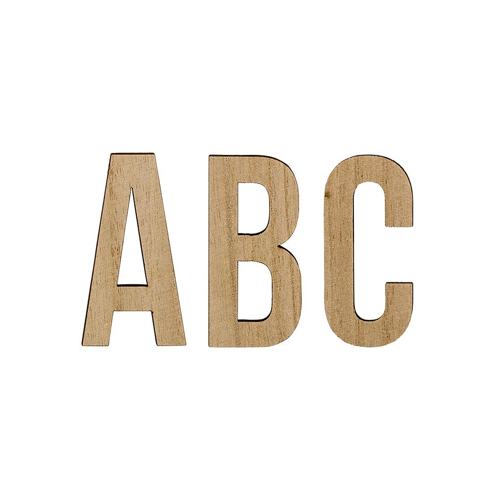 Lettres de l 39 alphabet en bois little marmaille - Lettres de l alphabet a decorer ...