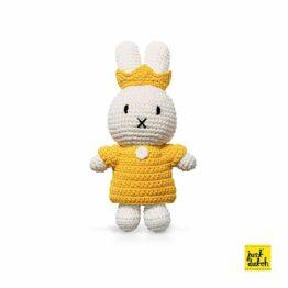 just-dutch_doudou-crochet-miffy-jaune