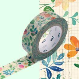 masking-stape_aquarelle-de-fleurs