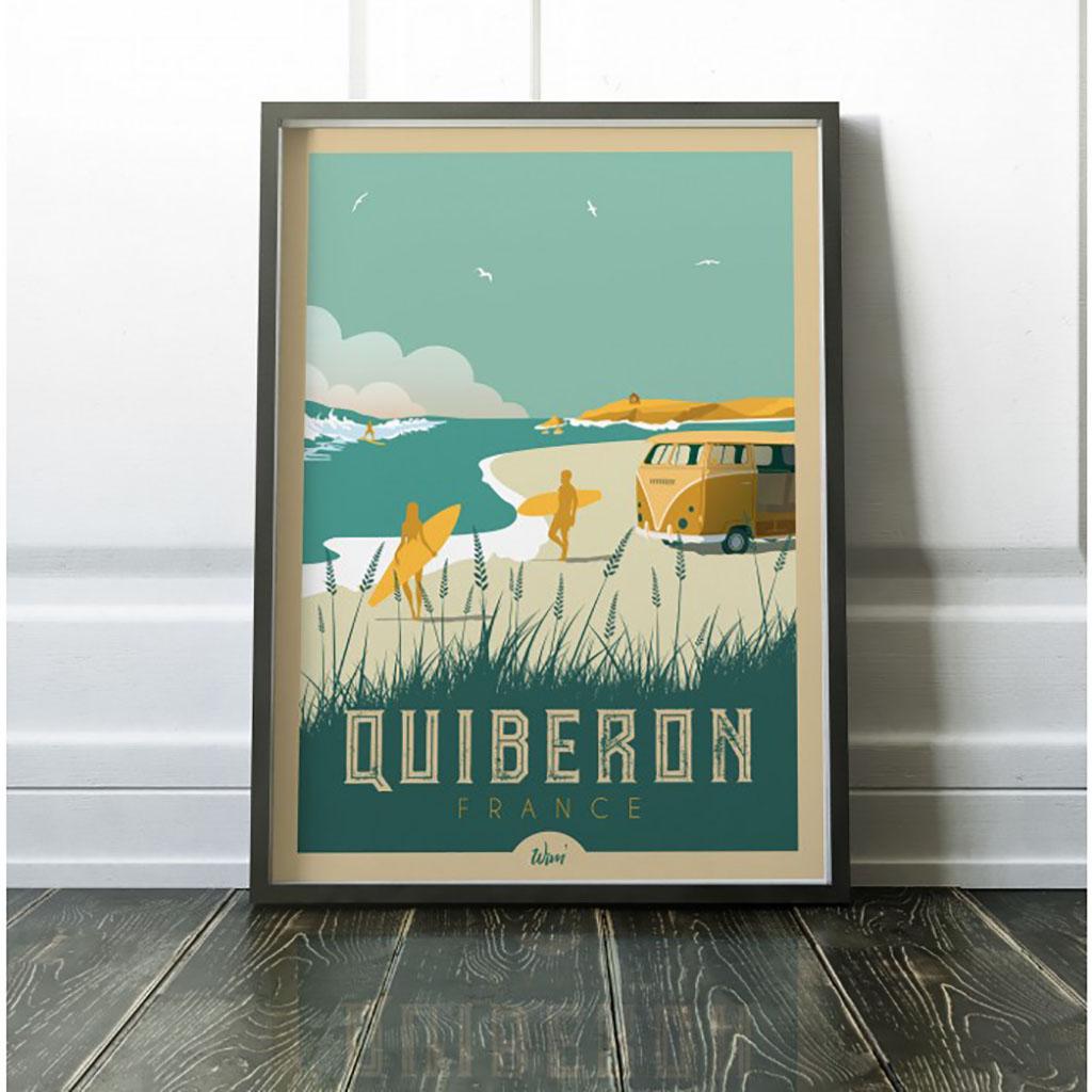a4c231aa270b Affiche - Quiberon - Little marmaille