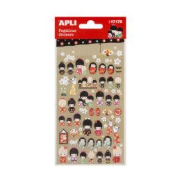 apli_planche-gommettes-poupees-kokeshi