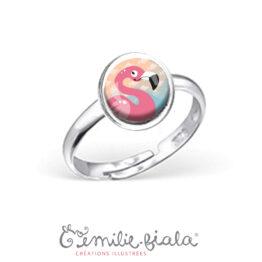 emilie-fiala_bague-flamant-rose
