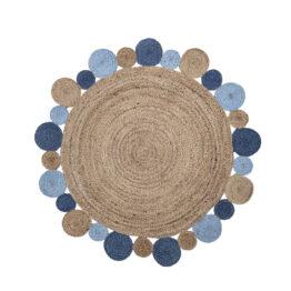 bloomingville-mini_tapis-rond-en-jute-bleu