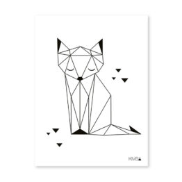 lilipinso_affiche-geometrique-renard