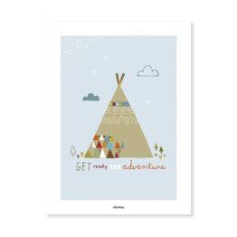 lilipinso_affiche-teepee-indien