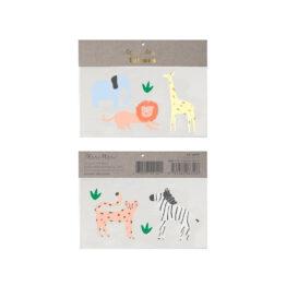 meri-meri_tatouage-safari-animaux