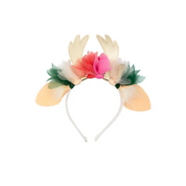 Bandeau flexible cerf floral de meri meri