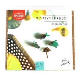 Packaging kit pin's émaillé