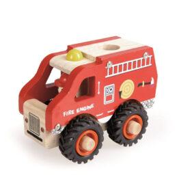 camion de pompier en bois Egmont Toys