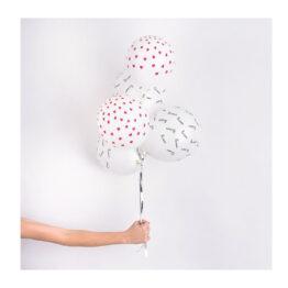 Lot de 5 ballons bisous