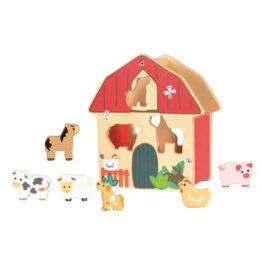 Boîte à forme Ferme - Egmont Toys