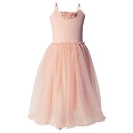 Robe ballerine vieux rose