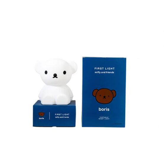 Veilleuse Boris mr maria avec son packaging