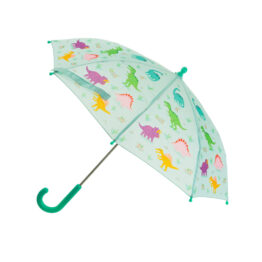 parapluie dinosaure ouvert sass and belle