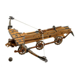 livre maquette les machines de leonard de vinci maquette arbalette