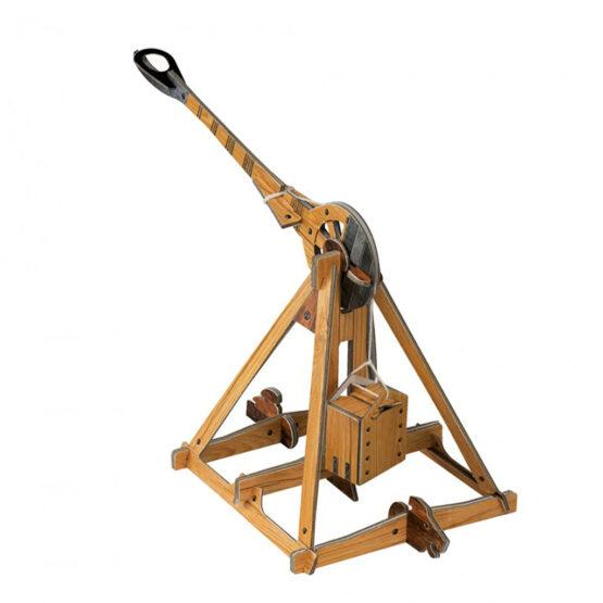 livre maquette les machines de leonard de vinci maquette catapulte
