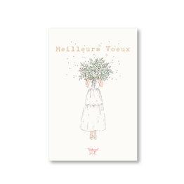 Carte bouquet de vœux de Tendrement Fé